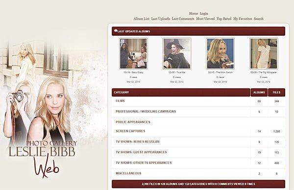 Leslie Bibb Web