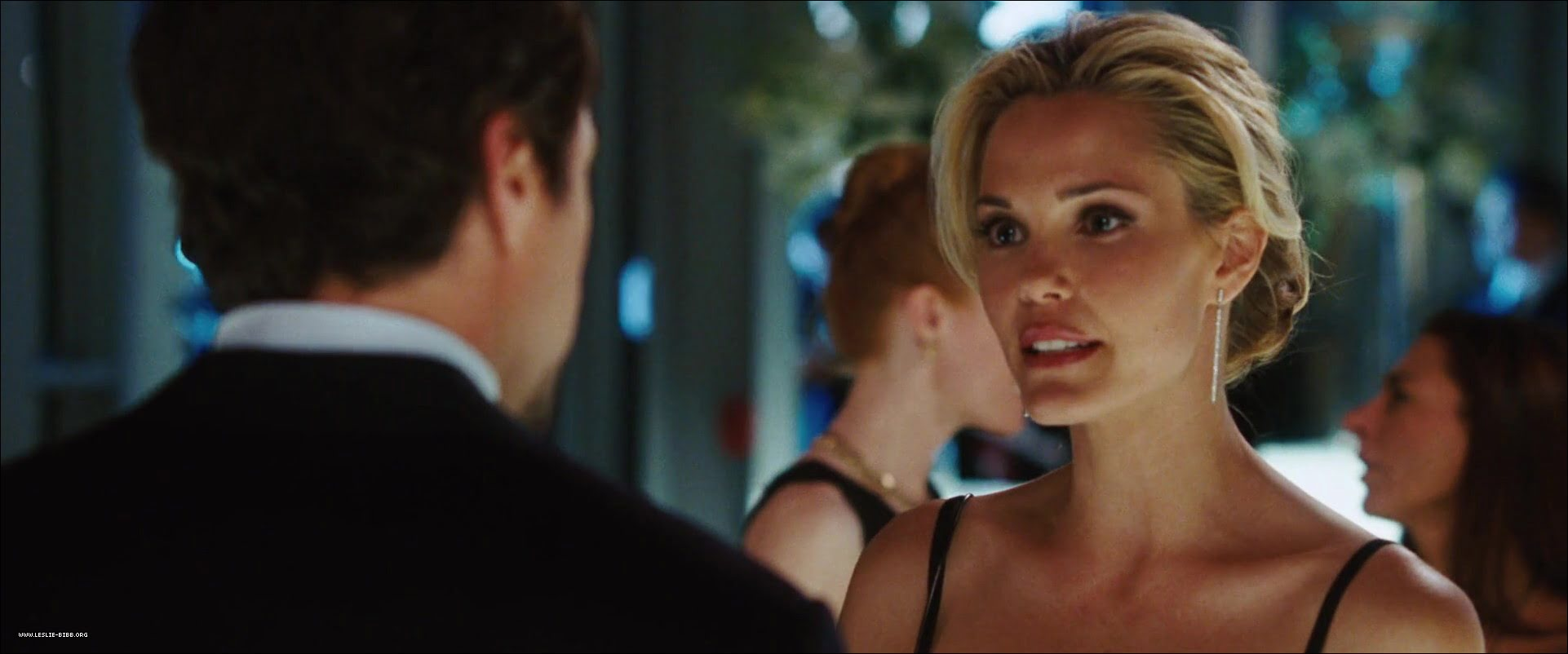 "Leslie Bibb in ""Iron Man"" and ""Iron Man 2"""